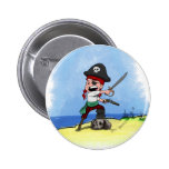 Pirate Lucy Button