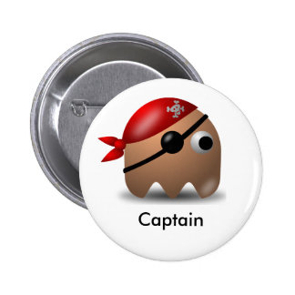 Pirate_Magnet1 6 Cm Round Badge