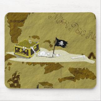 Pirate Map #1 Mouse Mat