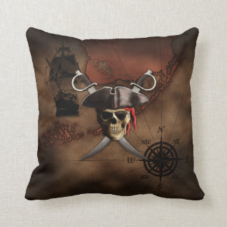 Pirate Map Cushion