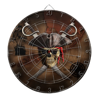 Pirate Map Dartboard