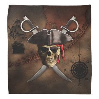 Pirate Map Head Kerchiefs