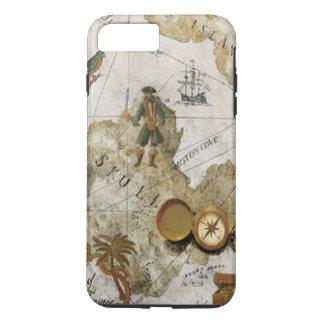 Pirate Map iPhone 7 Case