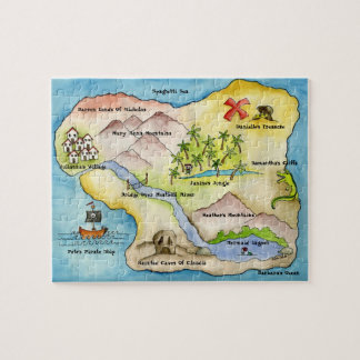 Pirate Map Puzzle