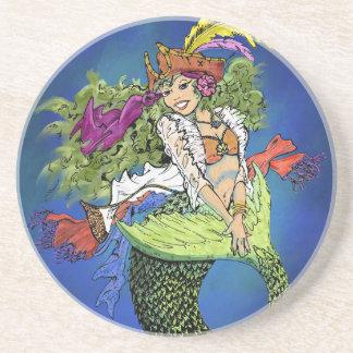Pirate Mermaid Coasters