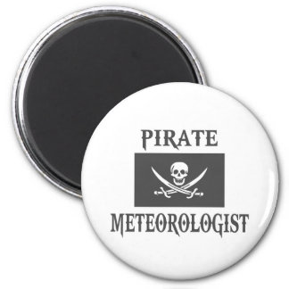 Pirate Meteorologist Refrigerator Magnet