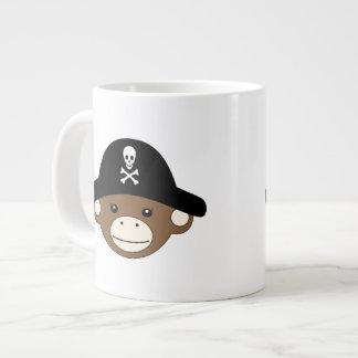Pirate Monkey Large Coffee Mug