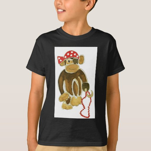 Pirate Monkey T Shirts