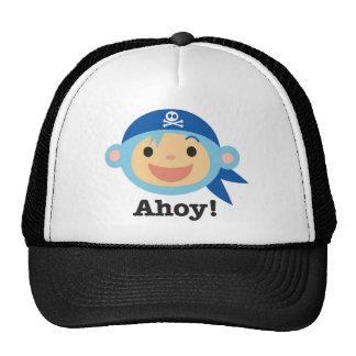 Pirate Monkeys Trucker Hat