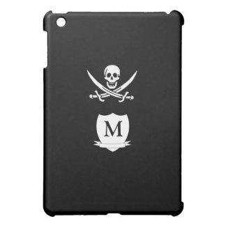 Pirate & monogram case for the iPad mini