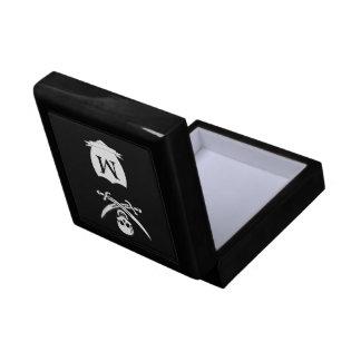 Pirate & monogram gift box