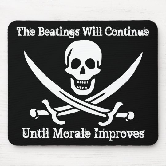 Pirate Morale Booster Mouse Mat