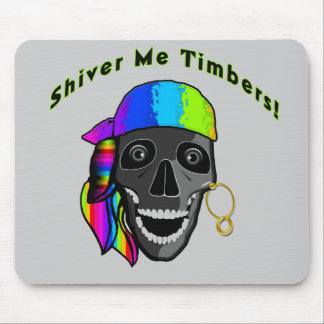 Pirate Mouse Pad - Shiver Me Timbers