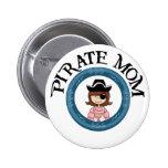 Pirate Mum 6 Cm Round Badge