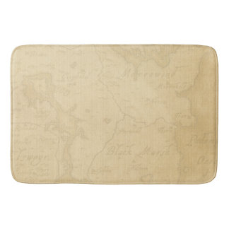 Pirate Mystery Ship Bath Mat