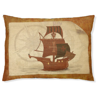 Pirate Mystery Ship Pet Bed