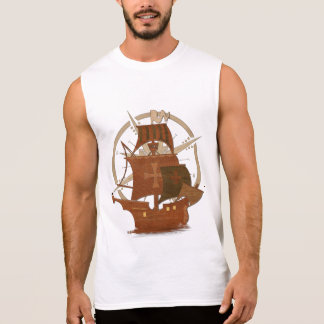 Pirate Mystery Ship Sleeveless Shirt