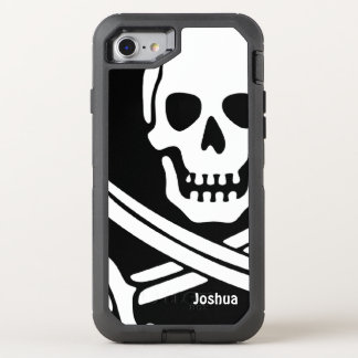 Pirate Name Template OtterBox Defender iPhone 8/7 Case