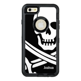 Pirate Name Template OtterBox Defender iPhone Case
