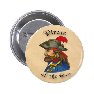 Pirate  of the Sea 6 Cm Round Badge