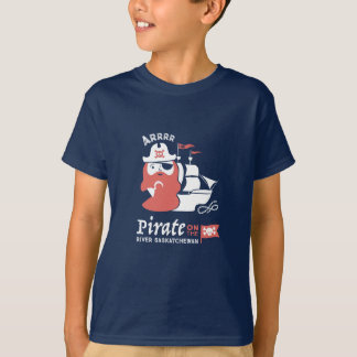 Pirate on the River Saskatchewan T-shirt