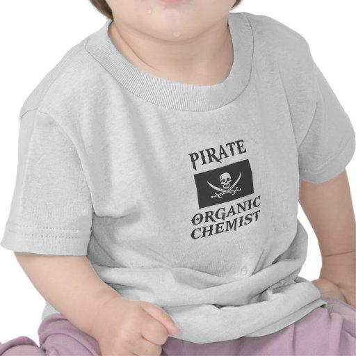Pirate Organic Chemist Tee Shirts