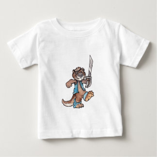 Pirate Otter Baby T-Shirt