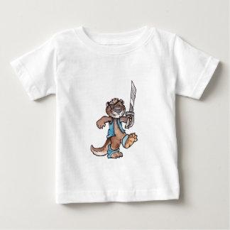 Pirate Otter Baby T-Shirt