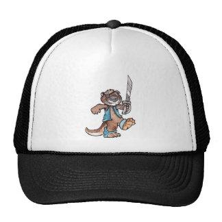 Pirate Otter Trucker Hats