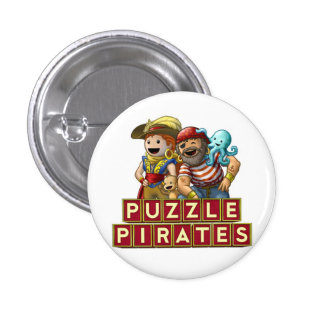 Pirate Pals Button