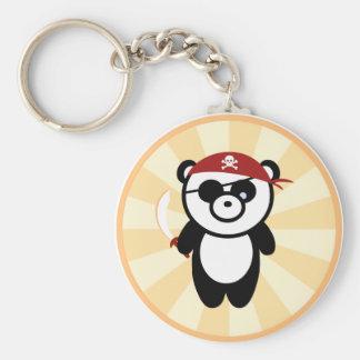 Pirate Panda Keychain