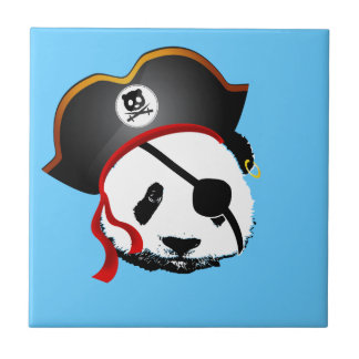 Pirate panda tile