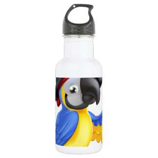 Pirate Parrot Illustration 532 Ml Water Bottle