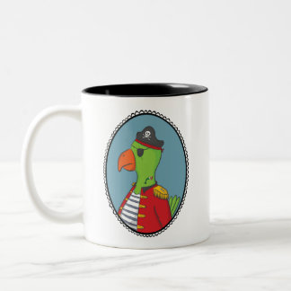 Pirate Parrot Mug