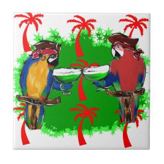 PIRATE PARROTS TILE