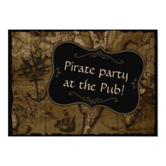 Pirate Party Card