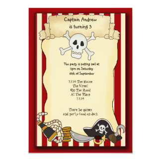 Pirate Party Invite