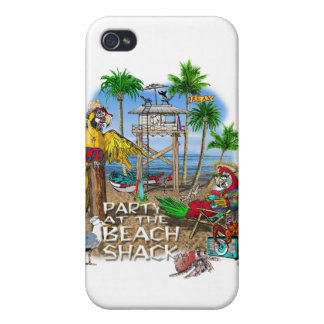 Pirate Party Parrots Party Case For The iPhone 4