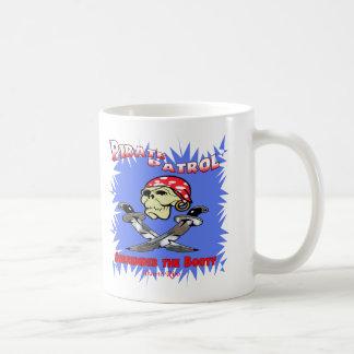 Pirate Patrol Classic White Coffee Mug