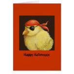Pirate Peep Halloween card