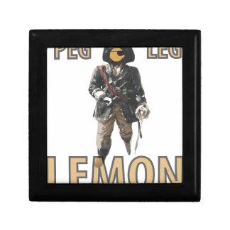 Pirate 'Peg Leg' Lemon Gift Box