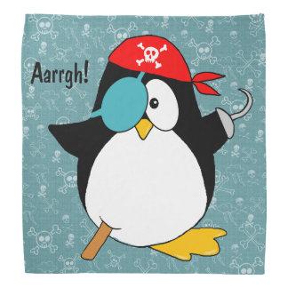 Pirate Penguin Bandanna