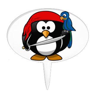 Pirate Penguin Cake Pick