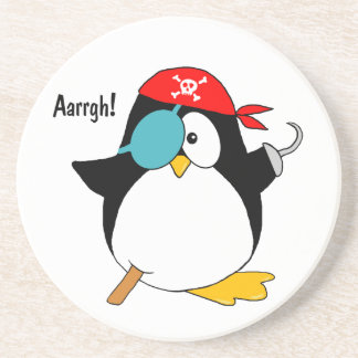 Pirate Penguin Coaster