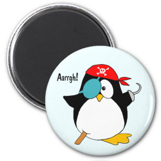 Pirate Penguin Magnet