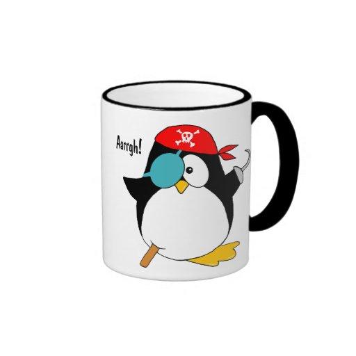 Pirate Penguin Mugs