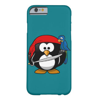 Pirate penguin parrot barely there iPhone 6 case