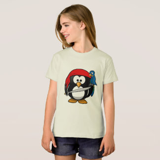 Pirate penguin parrot T-Shirt