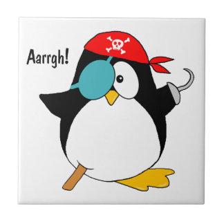 Pirate Penguin Tile