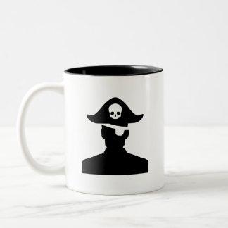 'Pirate' Pictogram Mug